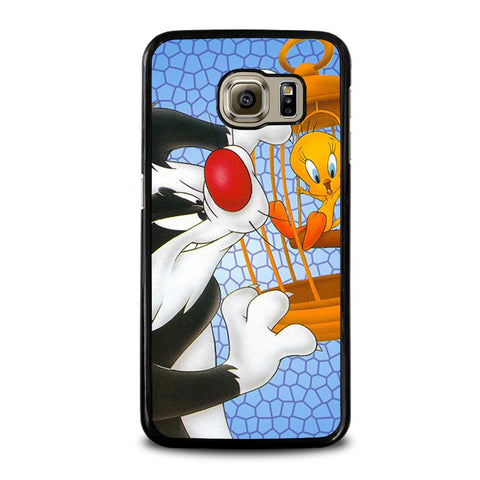 SYLVESTER-AND-TWEETY-Looney-Tunes-samsung-galaxy-s6-case-cover