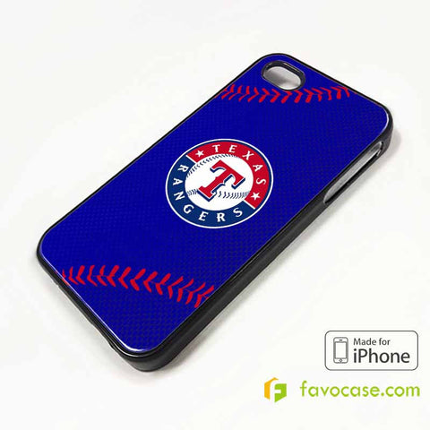 TEXAS RANGERS iPhone 4/4S 5/5S/SE 5C 6/6S 7 8 Plus X Case Cover