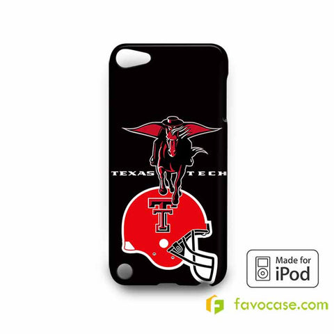 TEXAS TECH RED RAIDERS COLLEGE  iPod Touch 4 5 6 Case
