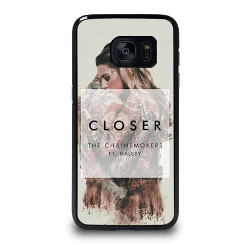 THE-CHAINSMOKERS-ft.-HALSEY-samsung-galaxy-S7-edge-case-cover