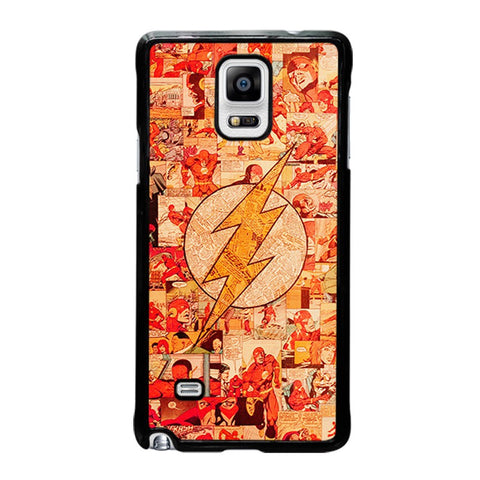 THE-FLASH-COLLAGE-samsung-galaxy-note-4-case-cover