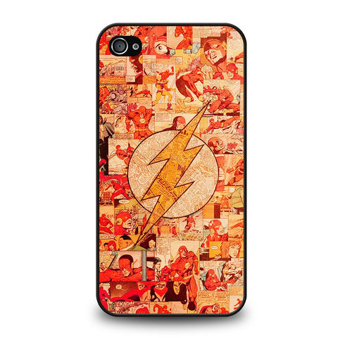 the-flash-collage-iphone-4-4s-case-cover