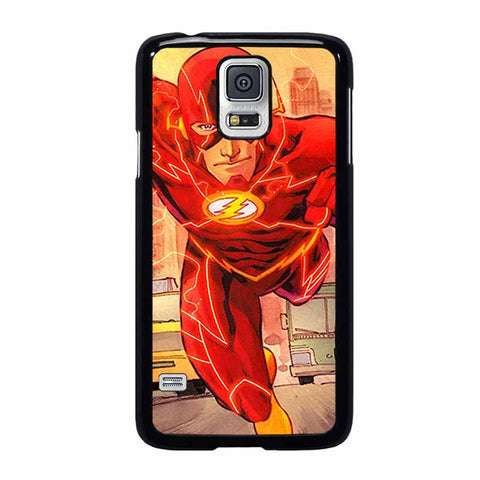 THE FLASH RUNNING DC-samsung-galaxy-S5-case-cover