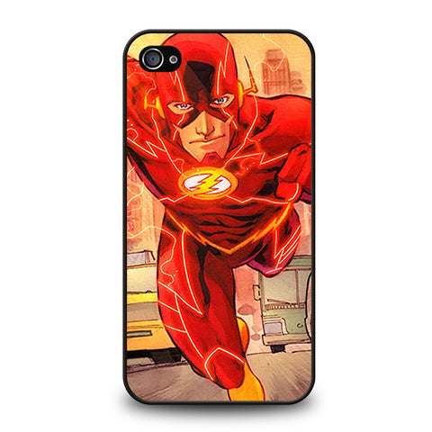 THE FLASH RUNNING DC-iphone-4-4s-case-cover