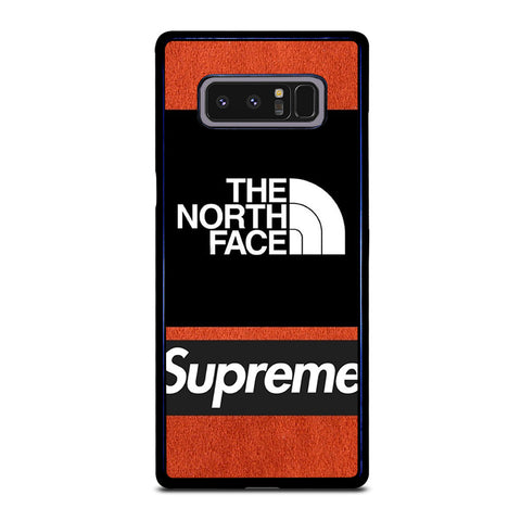 THE NORTH FACE SUPREME-samsung-galaxy-note-8-case-cover