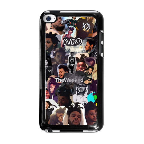 THE WEEKND COLLAGEipod-touch-4-case-cover