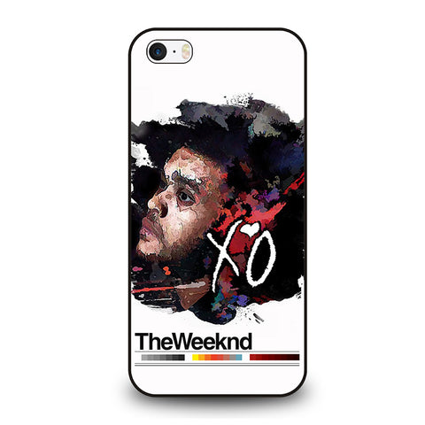 THE-WEEKND-XO-iphone-se-case-cover
