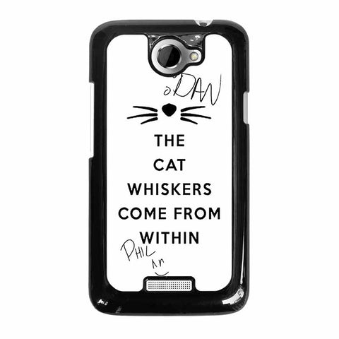 THE-WHISKERS-DAN-AND-PHIL-HTC-One-x-Case-Cover