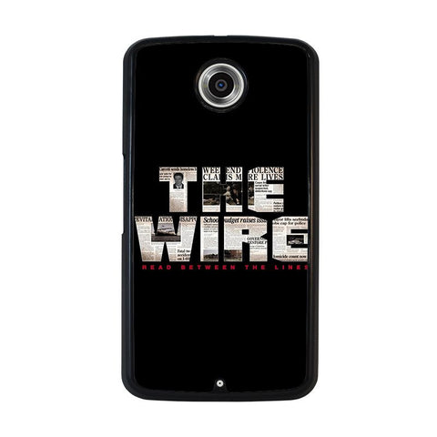 THE-WIRE-nexus-6-case-cover