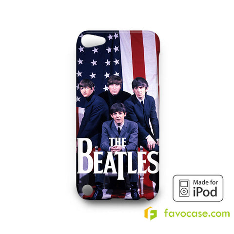 THE BEATLES 2 Band John Lennon iPod Touch 4, 5 Case Cover