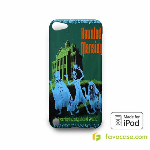 THE HAUNTED MANSION  iPod Touch 4 5 6 Case