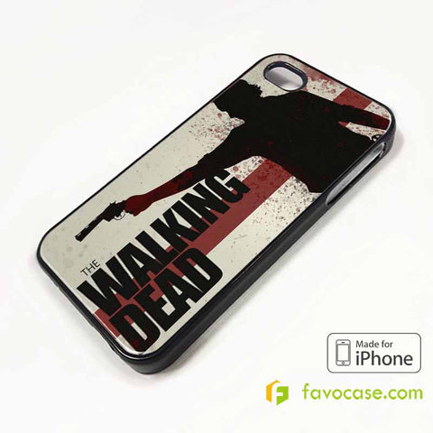 THE WALKING DEAD iPhone 4/4S 5/5S/SE 5C 6/6S 7 8 Plus X Case Cover