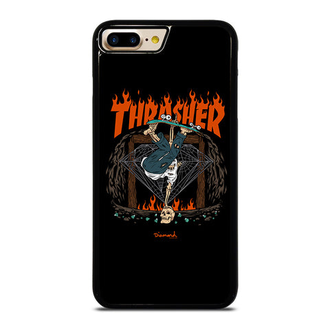THRASHER DIAMOND SUPPLY CO iPhone 4/4S 5/5S/SE 5C 6/6S 7 8 Plus X Case - Best Custom Phone Cover Design