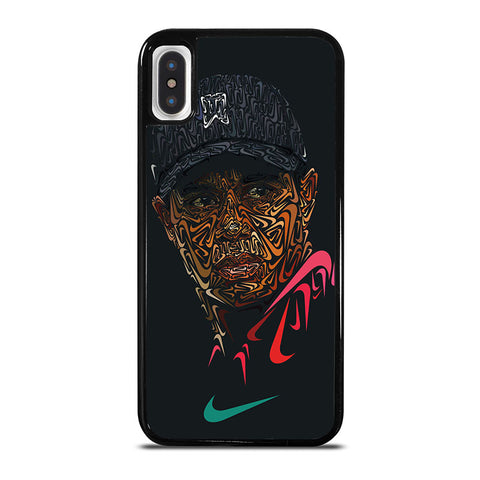 TIGER-WOODS-NIKE-PORTRAIT-iphone-x-case-cover