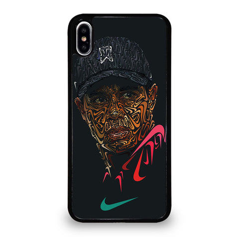 TIGER WOODS NIKE PORTRAIT-iphone-xs-max-case-cover