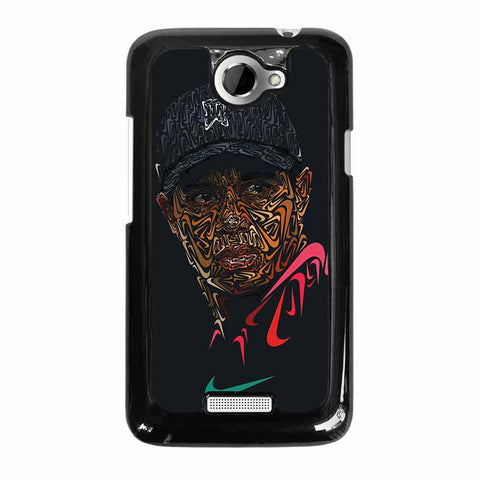TIGER-WOODS-NIKE-PORTRAIT-HTC-One-x-Case-Cover