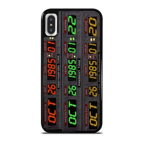 TIME-CIRCUITS-BACK-TO-THE-FUTURE-iphone-x-case-cover