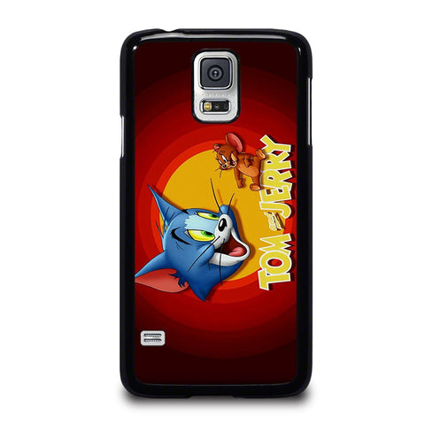 TOM-AND-JERRY-Logo-samsung-galaxy-s5-case-cover
