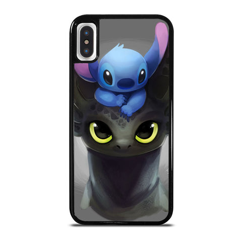 TOOTHLESS-AND-STITCH-iphone-x-case-cover