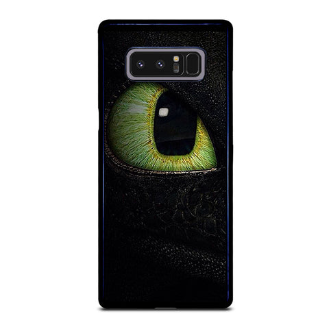 TOOTHLESS DRAGON EYE-samsung-galaxy-note-8-case-cover