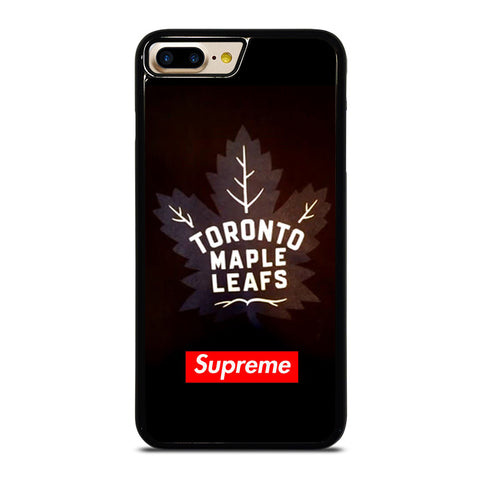 TORONTO MAPLE LEAFS SUPREME iPhone 4/4S 5/5S/SE 5C 6/6S 7 8 Plus X Case - Best Custom Phone Cover Design