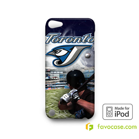 TORONTO BLUE JAYS Baseball Team MLB iPod Touch 4, 5 Case Cover
