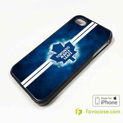 TORONTO MAPLE LEAFS Ice Hockey Team NHL iPhone 4/4S 5/5S/SE 5C 6/6S 7 8 Plus X Case Cover