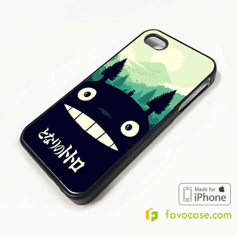 TOTORO Tonari No My Neighbor iPhone 4/4S 5/5S/SE 5C 6/6S 7 8 Plus X Case Cover