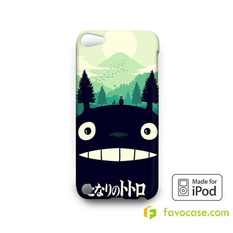 TOTORO Tonari No My Neighbor  iPod Touch 4 5 6 Case