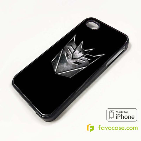 TRANSFORMERS DECEPTICON iPhone 4/4S 5/5S/SE 5C 6/6S 7 8 Plus X Case Cover