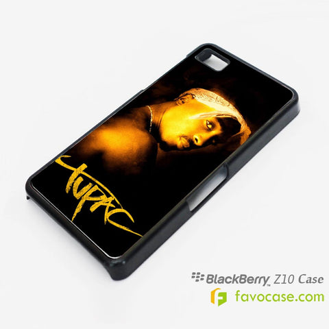 TUPAC SHAKUR 2Pac Blackberry Z10 Q10 Case Cover