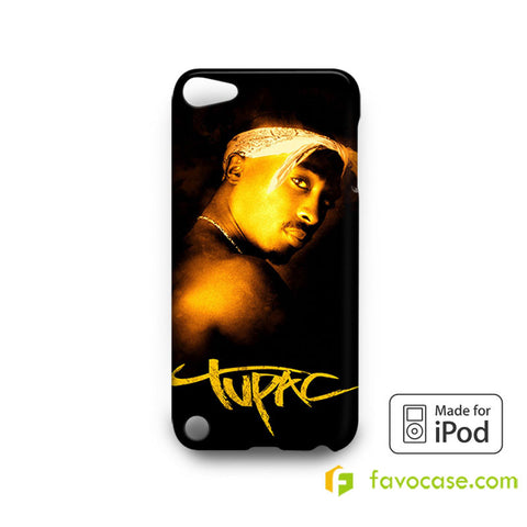 TUPAC SHAKUR 2Pac iPod Touch 4, 5 Case Cover
