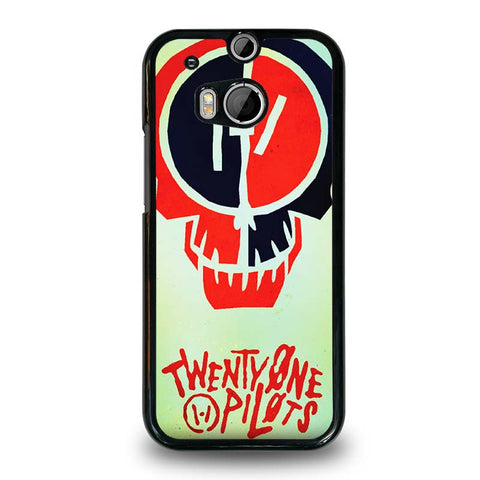 TWENTY-ONE-PILOTS-SKULL-HTC-One-M8-Case-Cover