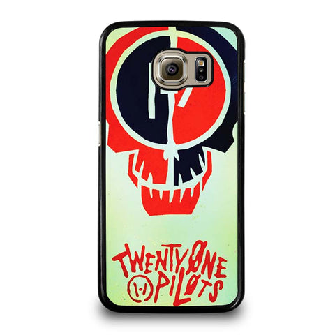 TWENTY-ONE-PILOTS-SKULL-samsung-galaxy-S6-case-cover