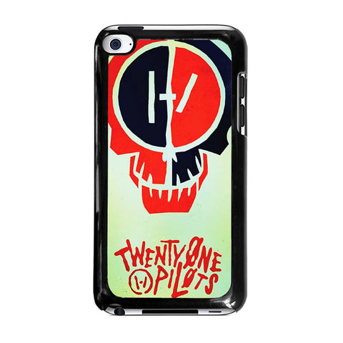 TWENTY-ONE-PILOTS-SKULL-ipod-touch-4-case-cover