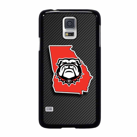 UGA UNIVERSITY OF GEORGIA BULLDOGS-samsung-galaxy-S5-case-cover