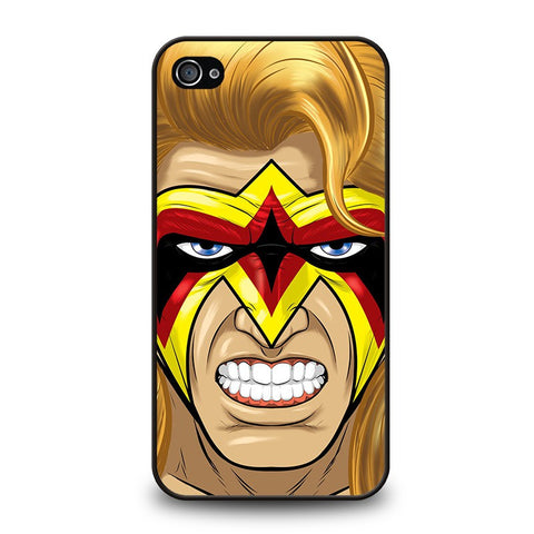 ultimate-warrior-face-paint-iphone-4-4s-case-cover