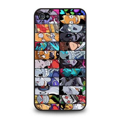 UNDERTALE ALL CHARACTER -iphone-4-4s-case-cover
