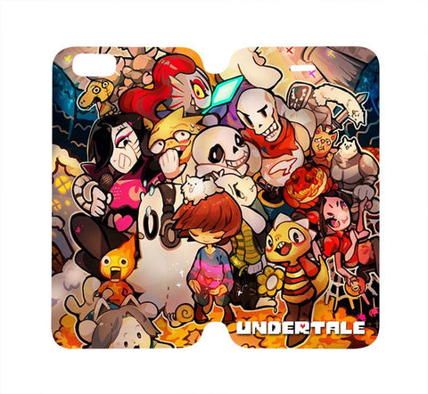 undertale-and-friends-wallet-flip-case-for-iphone-4-4s-5-5s-5c-6-6s-plus-samsung-galaxy-s4-s5-s6-edge-note-3-4
