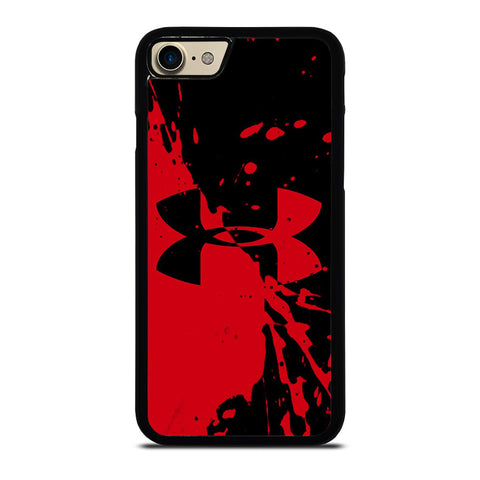 UNDER ARMOUR LOGO RED BLACK-case-for-iphone-ipod-samsung-galaxy