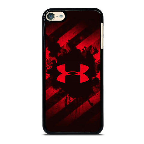 UNDER ARMOUR RED STRIPE LOGO-ipod-touch-4-5-6-case-cover