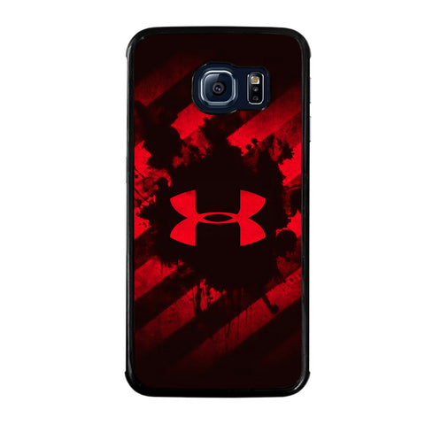 UNDER ARMOUR RED STRIPE LOGO-samsung-galaxy-S6-edge-case-cover