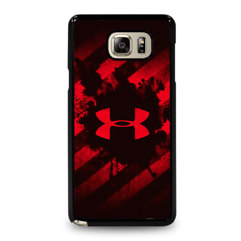 UNDER ARMOUR RED STRIPE LOGO-samsung-galaxy-S5-case-cover