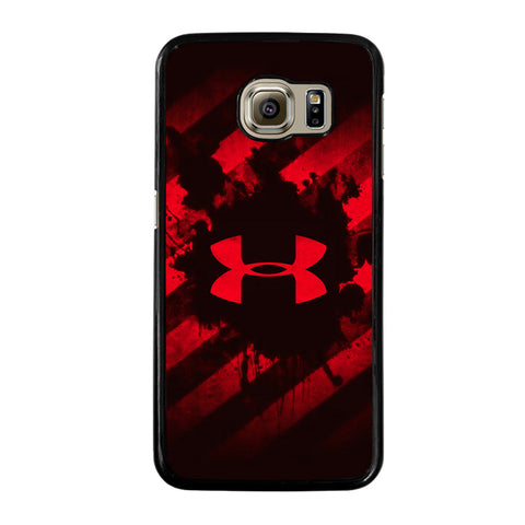UNDER ARMOUR RED STRIPE LOGO-samsung-galaxy-S6-case-cover