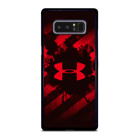 UNDER ARMOUR RED STRIPE LOGO-samsung-galaxy-note-8-case-cover