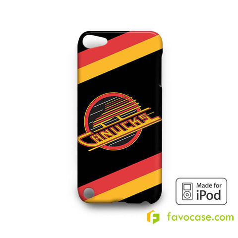 VANCOUVER CANUCKS Ice Hockey Team NHL iPod Touch 4, 5 Case Cover