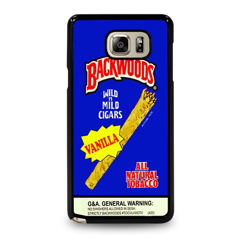 VANILLA BACKWOODS CIGARS-samsung-galaxy-S5-case-cover