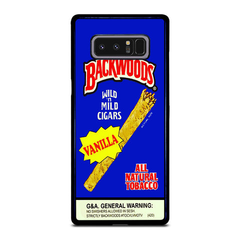 VANILLA BACKWOODS CIGARS-samsung-galaxy-note-8-case-cover