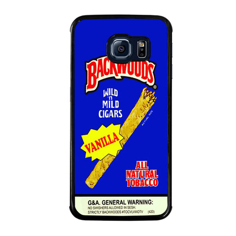 VANILLA BACKWOODS CIGARS-samsung-galaxy-S6-edge-case-cover