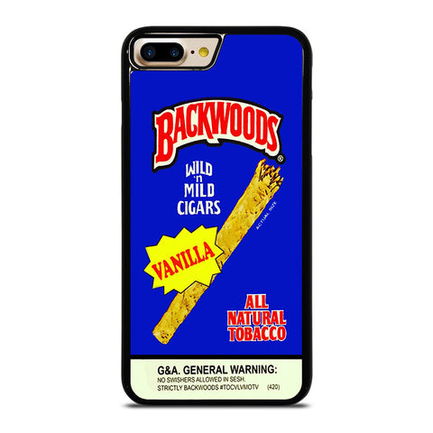 VANILLA BACKWOODS iPhone 4/4S 5/5S/SE 5C 6/6S 7 8 Plus X Case - Best Custom Phone Cover Design